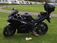 Black 2010 Triumph Sprint ST with LOADS of extras