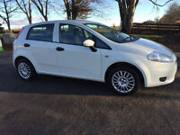Fiat Punto 2009 59 Plate. Low milage - 34k. 6 Months MOT. Great Condition.