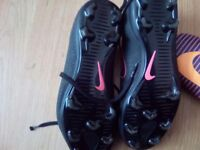 Football boots size 3 (small)