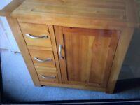 Next Pine cabinet