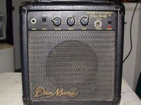 Classic Dean Markley K-15 Guitar Amp 30W rehearsal warmup busking practice home compact intimate gig