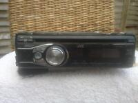 JVC FACE OFF CAR/VAN STEREO CD PLAYER WITH AUX