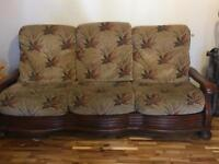 3 & 2seater sofa **good for an upcycle**
