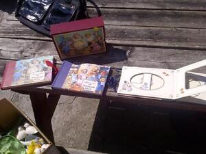 3 Teddy Bear albums, with case..... London Ontario image 1