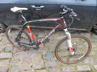SPECIALIZED STUMPJUMPER EXPERT CARBON 21 inch not Cannondale, Giant, Trek