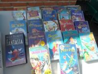 Disney videos VHS good condition. 22 films, see photos for titles. £7