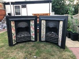 Victorian Fire Place (Cast Iron), Two Available - Pick Up Only (HA3, Harrow)