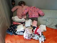 Job lot 2-3 year girl clothes