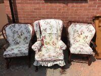 Chairs x 3 fair condition - £10.00