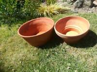 2 Terracotta Pans