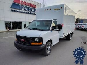 2015 GMC Savana 16 ft Cube Van, 6.0L V8 Gas, 32,311 KMs, RWD