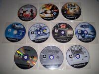 Bundle of 10 PS2 Games - PAL
