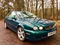 Jaguar, X-TYPE, Saloon, 2009, Manual, 1998 (cc), 4 doors