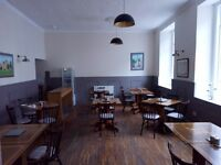 Recently refurbished cafe seeks enthusiastic experienced baker/ cook