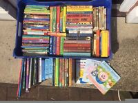 107 assorted childrens and young persons books