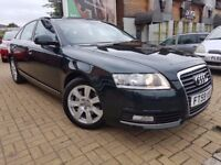 AUDI A6 2010, 2.0 TDI 170 SE MT, AUTOMATIC CVT, FULL SERVICE HISTORY, FULL BLACK LEATHER, NAV