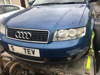 Audi A4 Sport 2litre quick sale today no mot spares repair