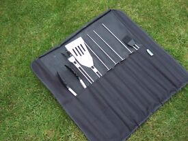Gas B-B-Q and cooking tools