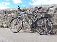 Specialized Hardrock Sport Disc mountain bike for sale - including some useful accessories