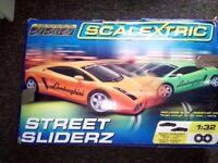 SCALEXTRIC Full Set C1224 Street Sliderz Hardly used