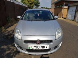 FIAT BRAVO 2010 FULL SERVICE HISTORY 11 MONTHS MOT WITH NO ADVISORIES