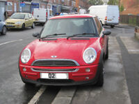 Mini One 12 month MOT. 2002 for sale / swap for a 4/5 door car