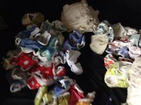 Double cloth diaper kit