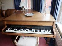 Broadwood Baby Grand Piano.
