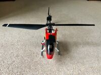 Radio controlled helicopter - Honey Bee Mk 2 complete in case with spares