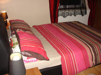 King size room with double bed avaliable for rent