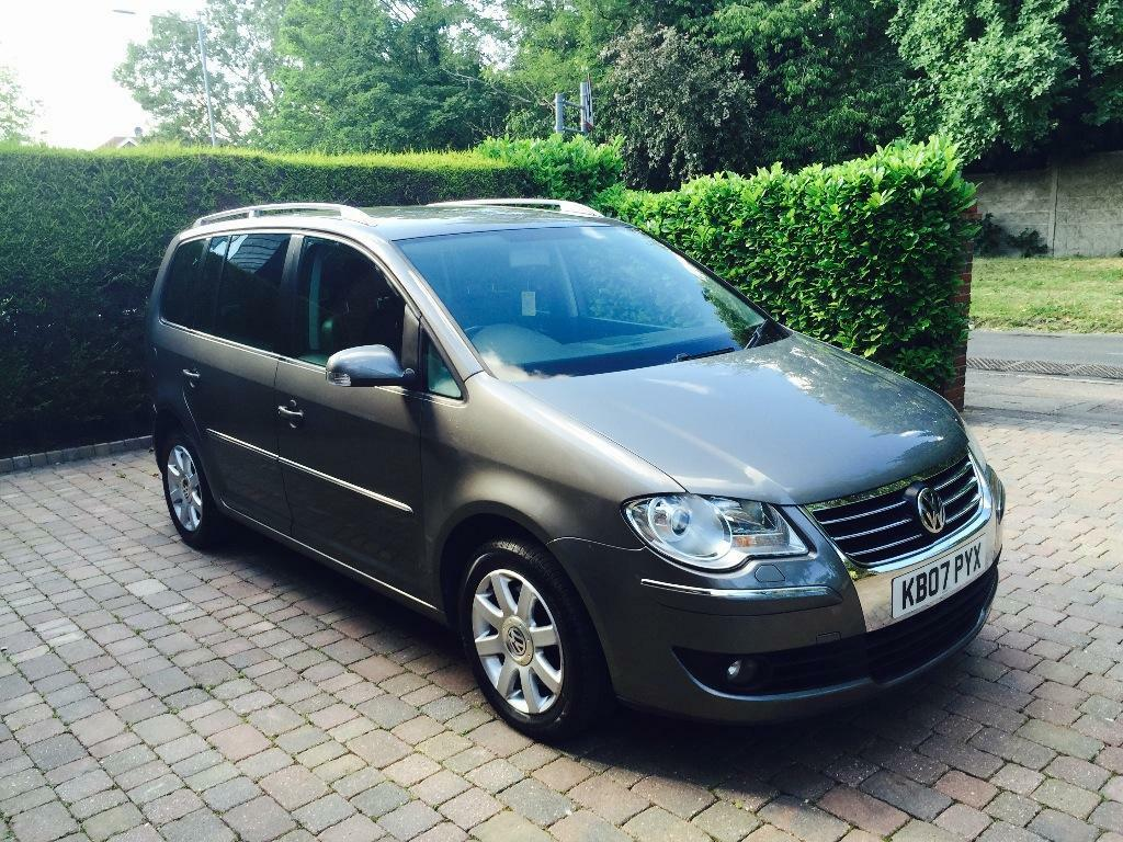 vw touran 2 0tdi auto sport 170bhp 7 seats in loughton essex gumtree. Black Bedroom Furniture Sets. Home Design Ideas