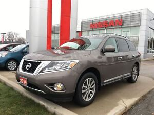 2014 Nissan Pathfinder SL TECH, NAVIGATION, LEATHER, HEATED FRON
