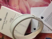 Lot 50 x ORG. Apple 1M USB Data Cable Lightning Sync Charger for iPhone 5 6 7 8 X
