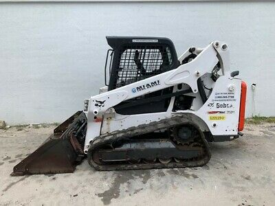 2017 Bobcat T590 Skid Steer Loader Open Cab With Bucket