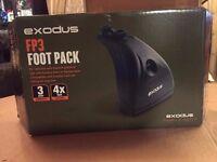 Exodus FP3 foot pack