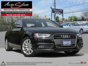 2013 Audi A4 Quattro AWD ONLY 86K! **LED LIGHTING PKG** CLEAN...