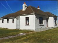 3 Bedroom Bungalow for Rent. Unfurnished. South Uist. Daliburgh