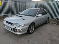 SUBARU IMPREZA TURBO 2000 4WD,218BHP,LOW MILES.