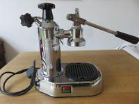Silver Pavoni Coffee Machine