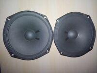 Speakers (Kustom) Three 30 Watts 4 Ohms 6 Inch