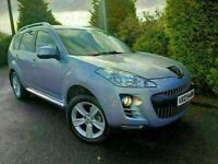 PEUGEOT 4007 HDI GT 7 SEAT ONLY 48K 4X4 LIKE OUTLANDER CROSSOVER XTRAIL RAV4