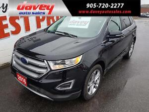 2016 Ford Edge Titanium SUNROOF, ALL WHEEL DRIVE, NAVIGATION