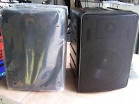 Loudspeakers Phonic SE207B 1 Pair of 6 1/2 inch + tweeter multi purpose Speakers never used.