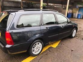 Excellent condition Ford Focus estate low mileage 2002 long mot