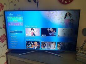 "55""/65"" samsung UHD smart tv"