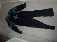 Frank Thomas Aqua all in one motorcycle all weather oversuit Small