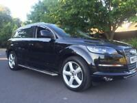 Audi Q7 2007 3.0 TDI Quattro Auto FSH 2 owners FULL Leather S LINE alloys + 3 keys + Serviced