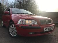 Volvo S40 S Full Service History Timing Belt And Pump Done Cheap Car With Mot !!!