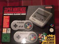Snes classic mini console Nintendo