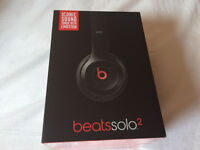 Beats Solo 2 headphones Black Solo2 New Apple wired By Dre
